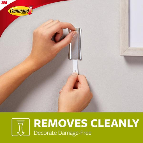 3M Command  Damage-Free Sawtooth Metal Picture Hanger 17047