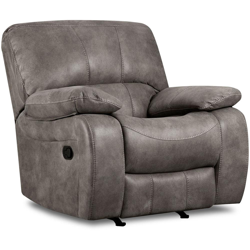 Flash Furniture Contemporary Softsuede Graphite Microfiber