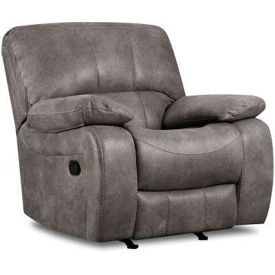 Garrison Charcoal Rocker Recliner