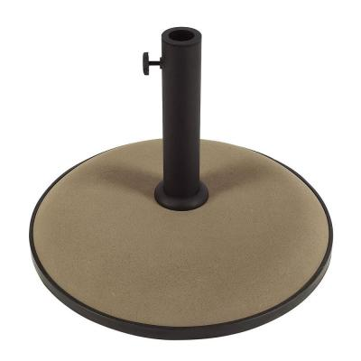 55 lb. Concrete Patio Umbrella Base in Champagne Bronze
