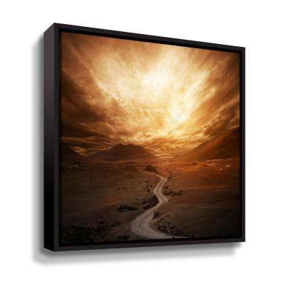 Sunset' by  PhotoINC Studio Framed Canvas Wall Art