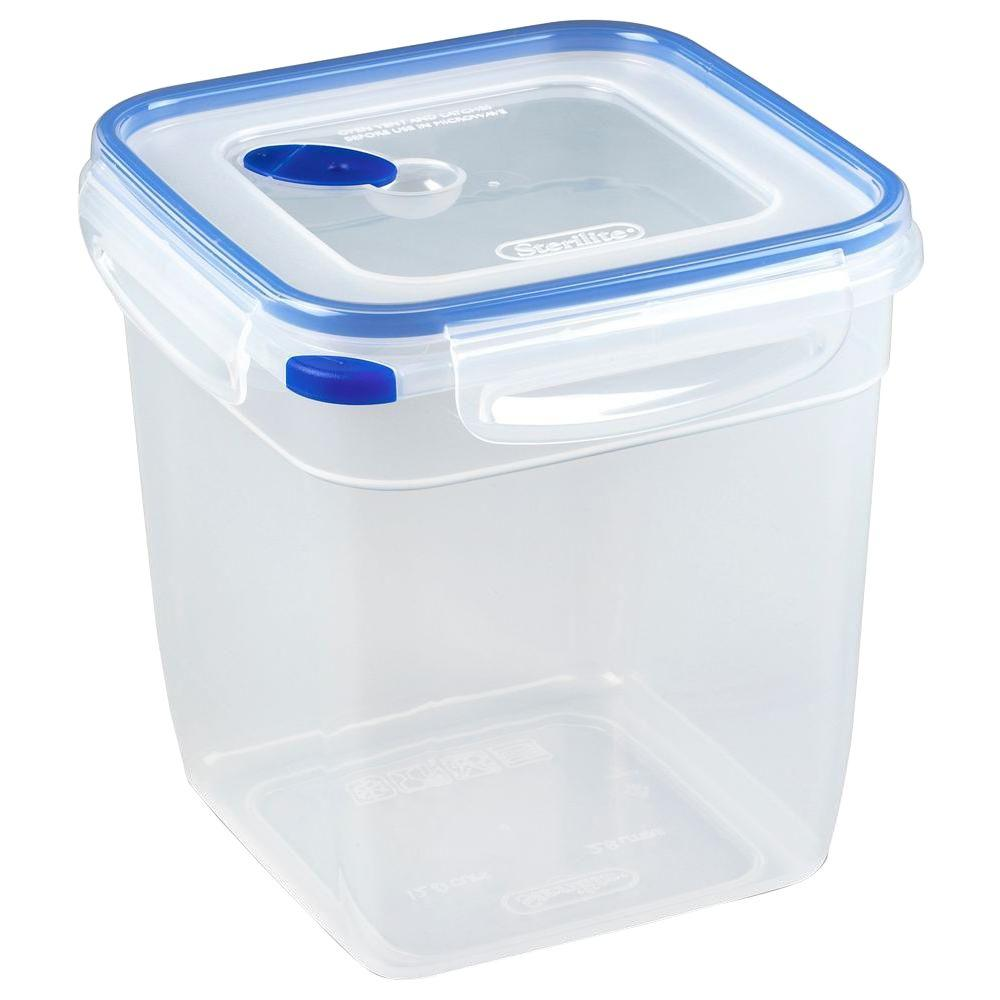 Sterilite Ultra-Seal 12-Cup Square Food Storage Container (6-Pack)-DISCONTINUED