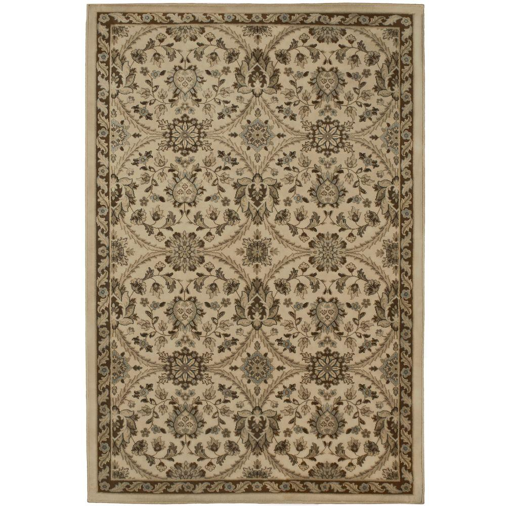 null Fabris Khaki 6 ft. 7 in. x 9 ft. 8 in. Area Rug