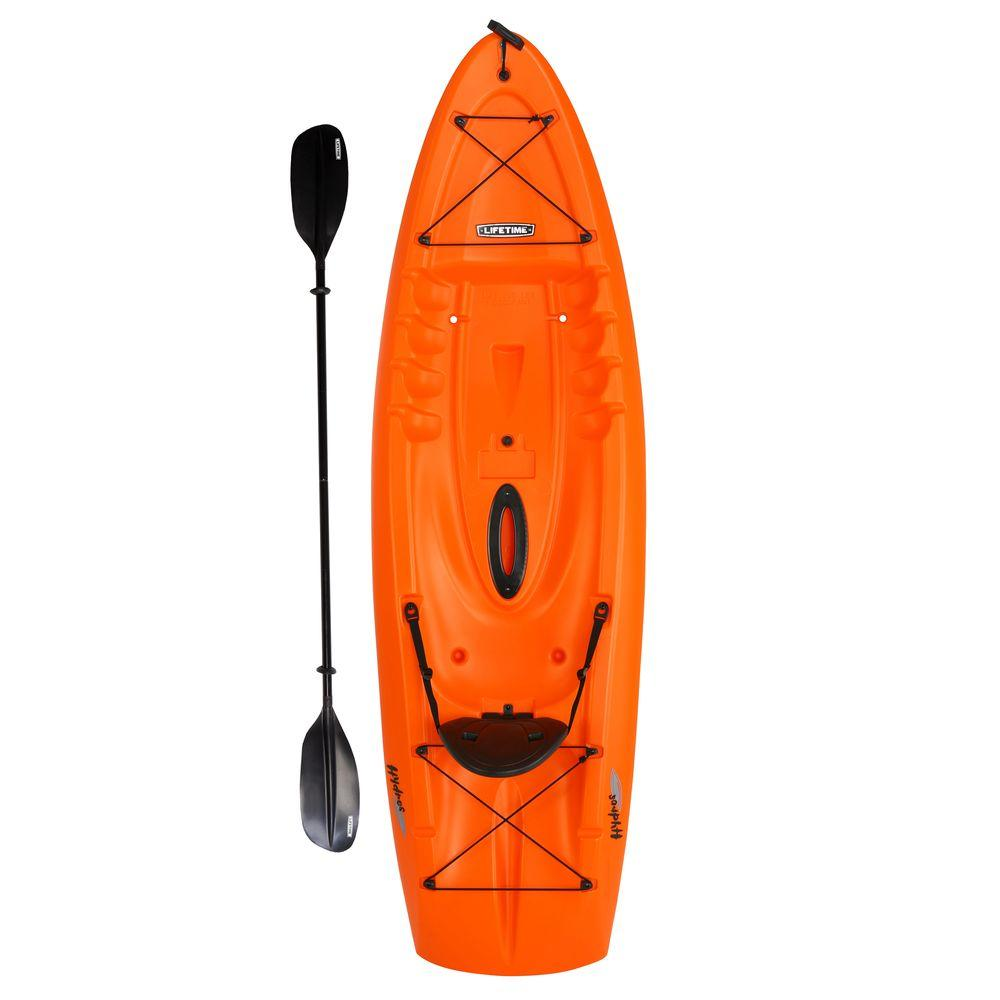 Lifetime 8 5 ft  Hydros Kayak with Paddle and Backrest