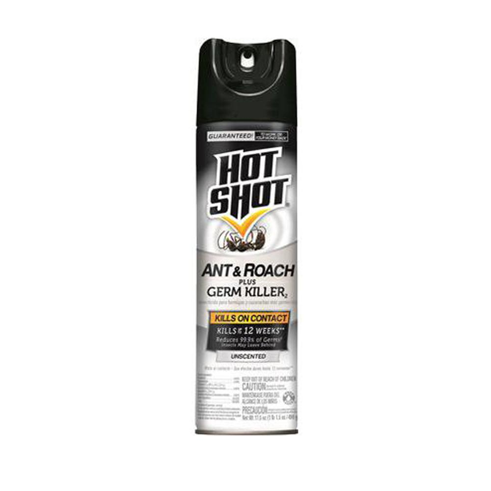 17.5 oz. Unscented Hot Shot Ant and Roach Killer