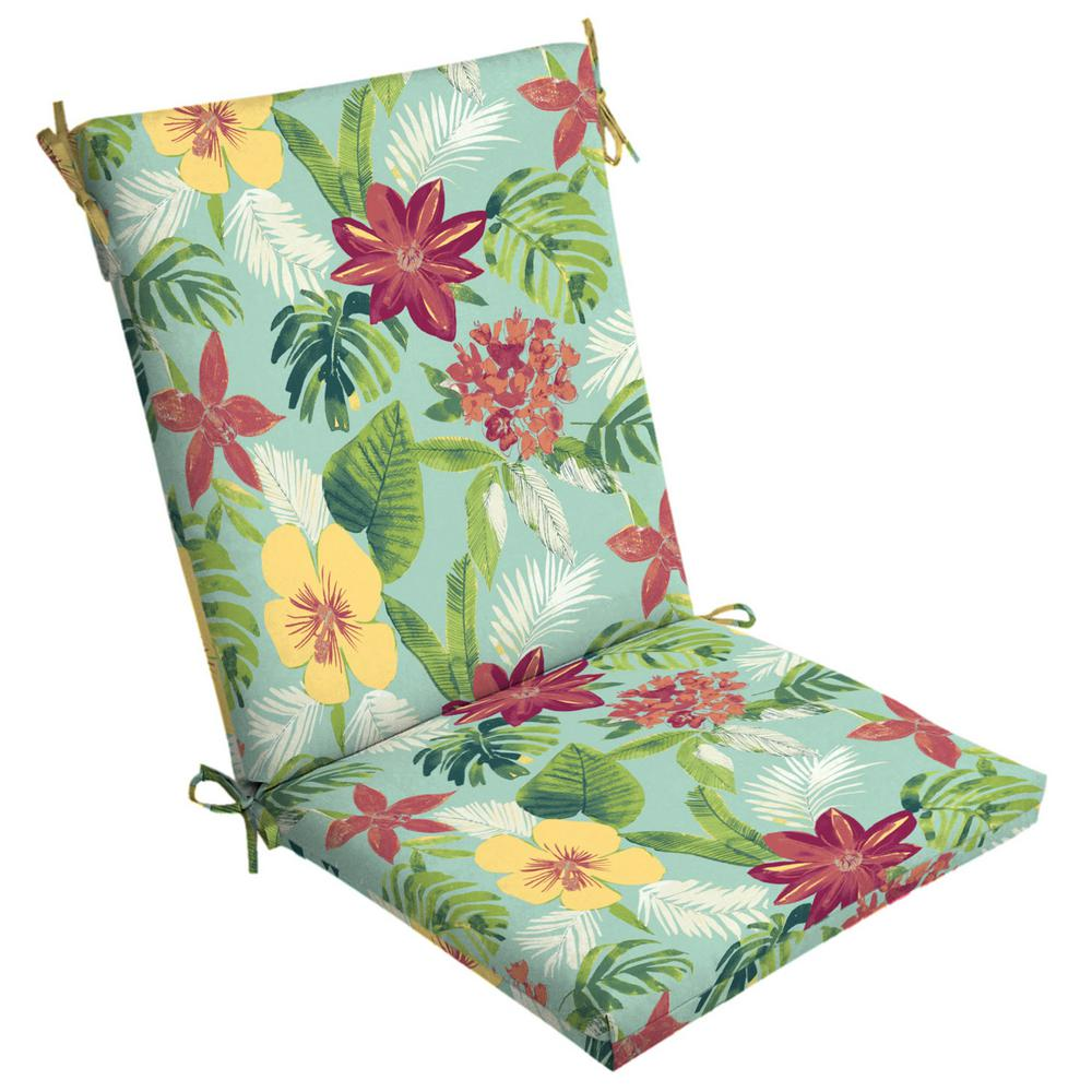 Arden Selections Elea Tropical Outdoor High Back Dining ...