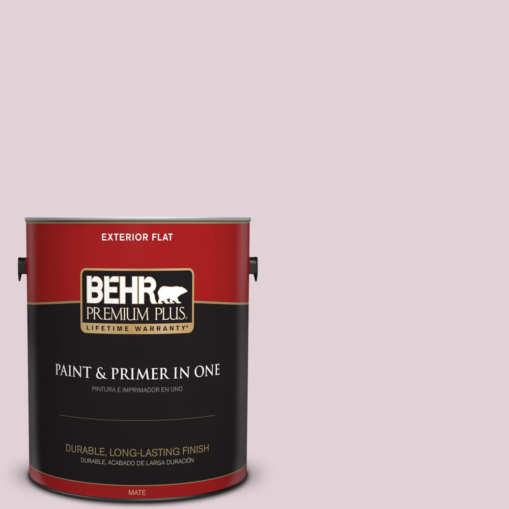 1-gal. #T15-7 Secret Blush Flat Exterior Paint