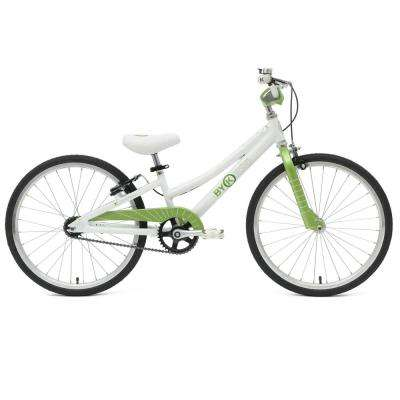 E-450 20 in. Wheels 10 in. Frame Lime Green Kid's Bike