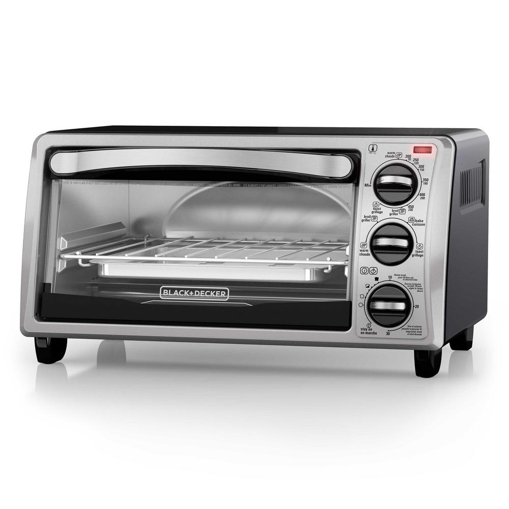 Convection Toaster Oven Stainless Steel 4slice Bake Pan