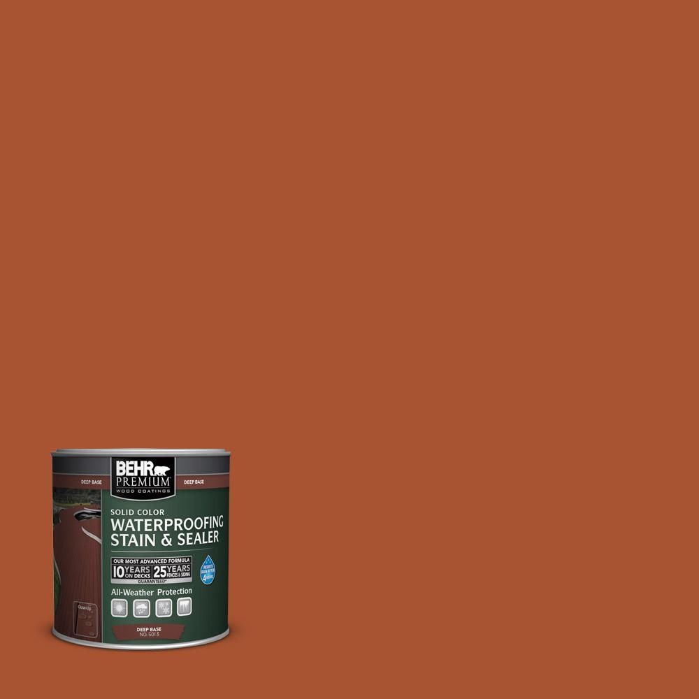8 oz. #SC-136 Royal Hayden Solid Color Waterproofing Stain and Sealer