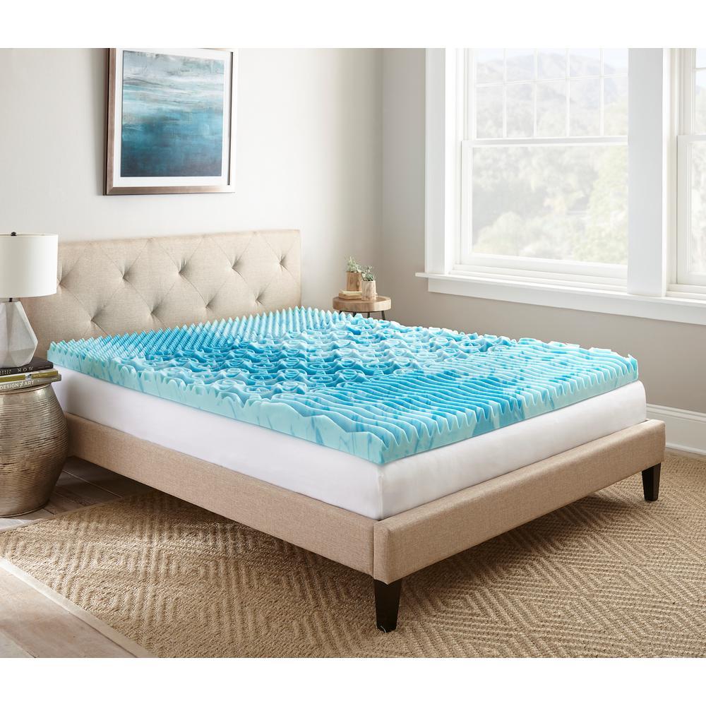 twin xl cooling mattress topper Broyhill DB 3 in. Broyhill GelLux Foam Topper HDDOD003LDB   The  twin xl cooling mattress topper