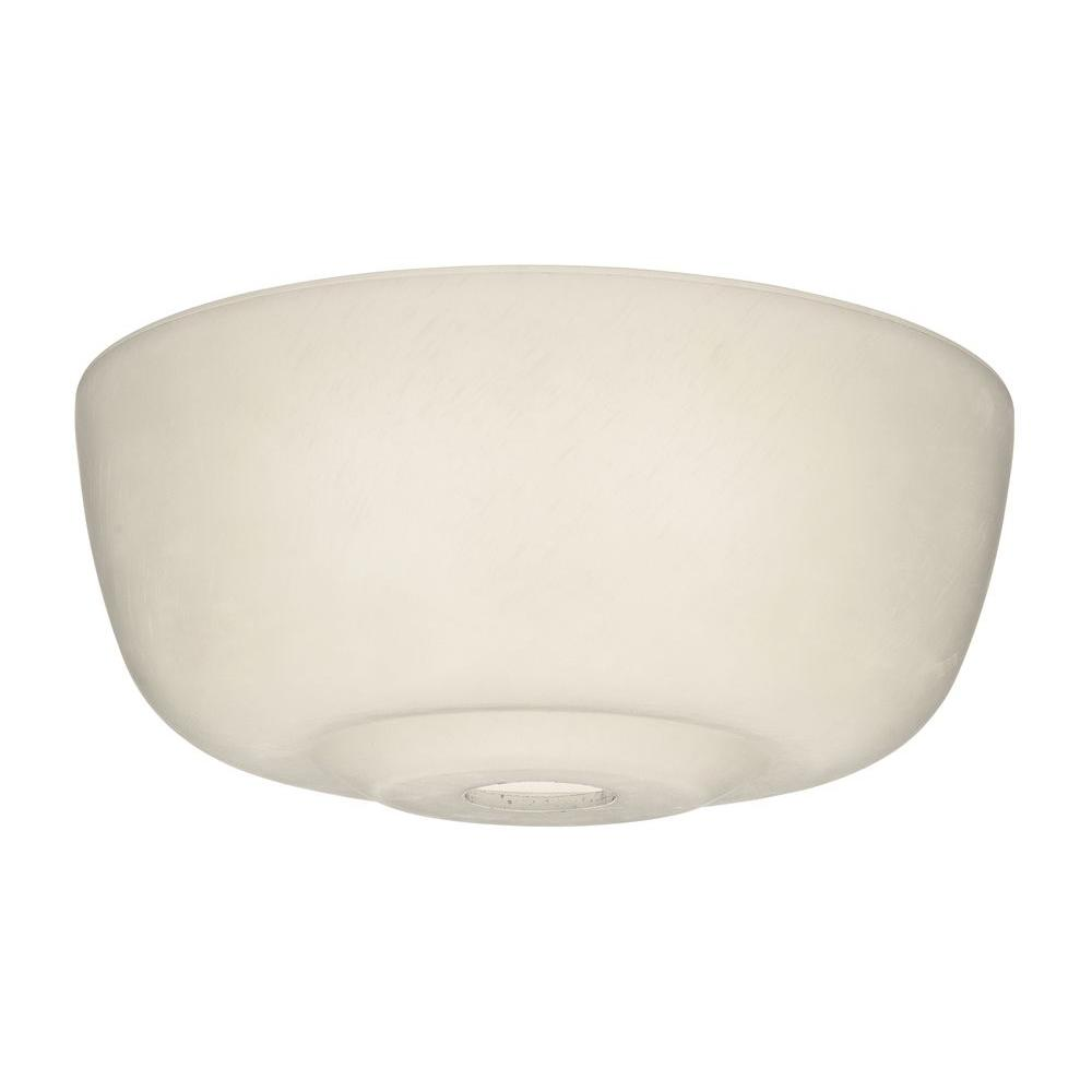 Casablanca Transitional Cased White Glass Bowl for 99023