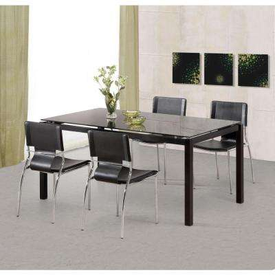 Trafico Black Dining Chair (Set of 4)