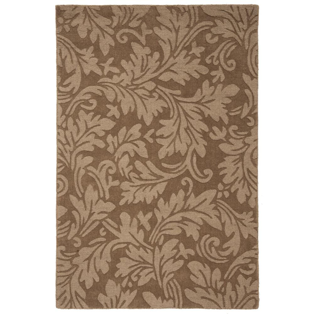 Safavieh Impressions Brown 4 Ft X 6 Ft Area Rug Im344a 4 The
