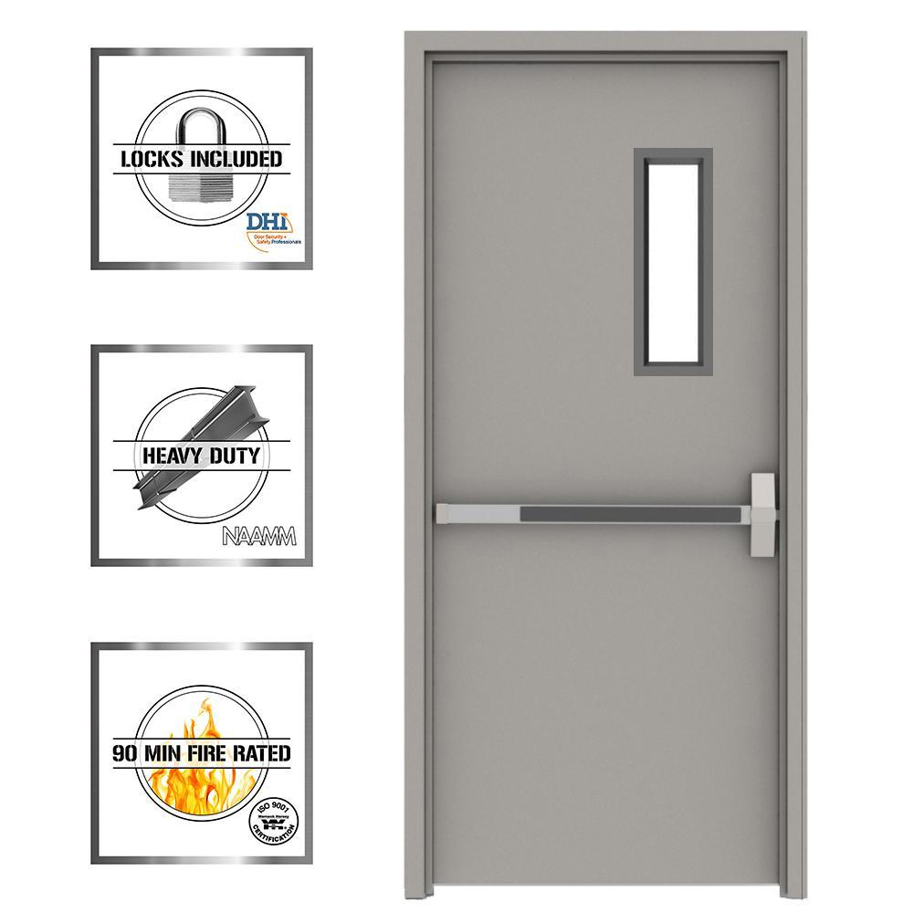 Commercial Doors Exterior Doors The Home Depot