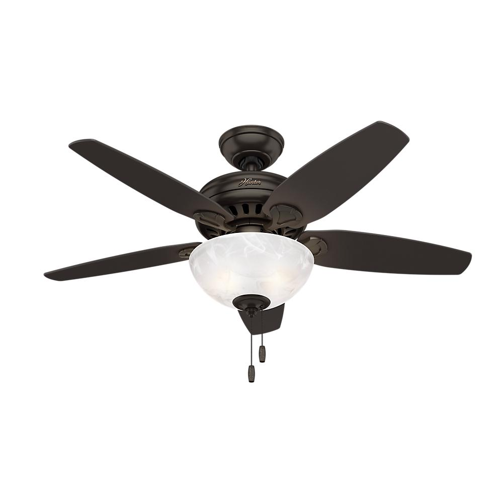 Hunter cedar park 44 in indoor premier bronze ceiling fan with indoor premier bronze ceiling fan with light kit aloadofball Images