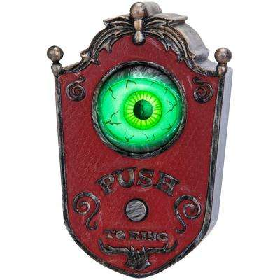 6.89 in. H Animated Doorbell Eyeball