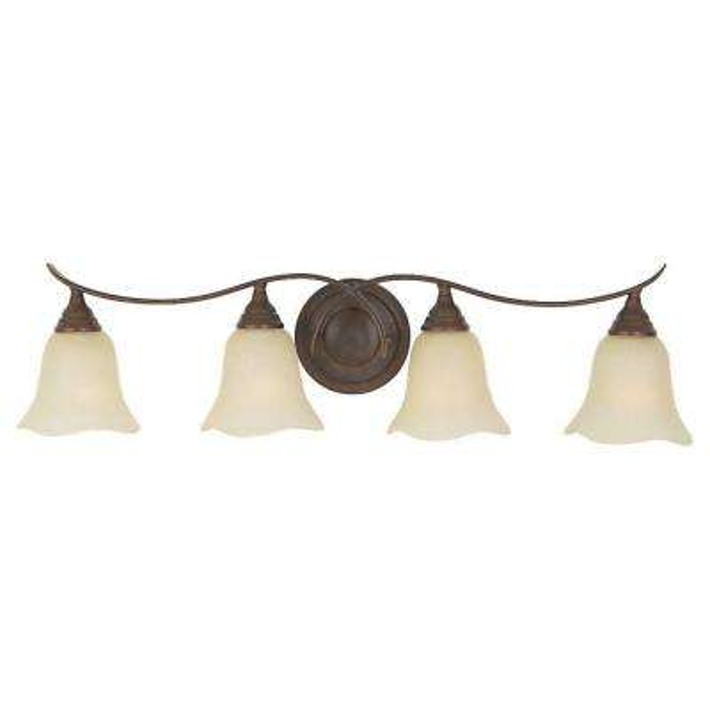 Morningside 4-Light Grecian Bronze Vanity Light