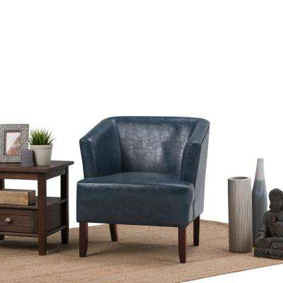 Denim Blue - Chairs - Living Room Furniture - The Home Depot