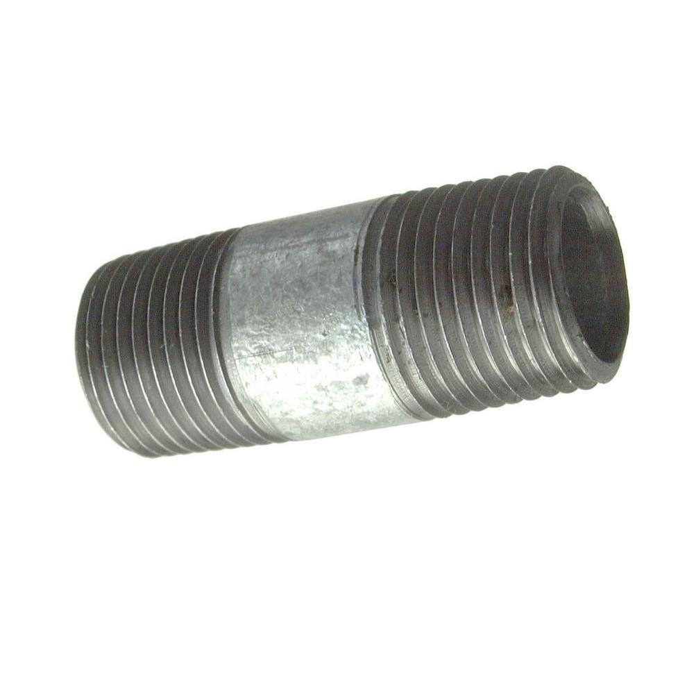 PrimeX 83253 2-1//2 Inch x 6 Inch Galvanized Nipple