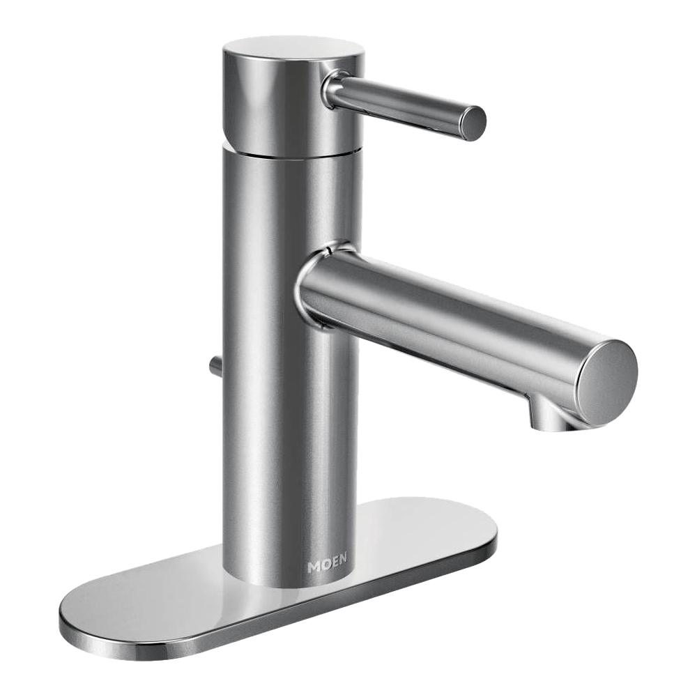 MOEN Align Single Hole Single-Handle Bathroom Faucet in Chrome