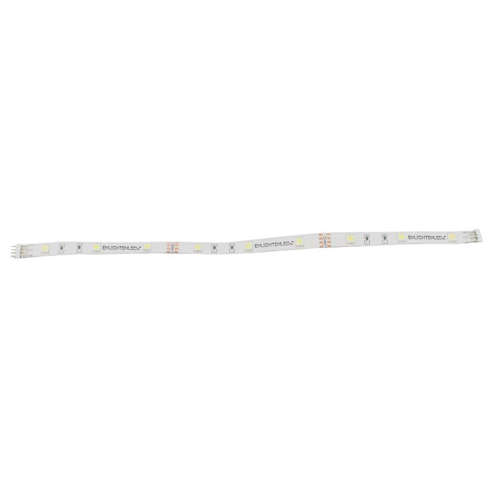 Ultra 12 in. Cool White LED Under Cabinet Flexible Linkable Light