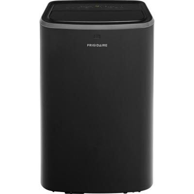 12,000 BTU (6,600 BTU, DOE) Portable Air Conditioner for Rooms up to 550 sq. ft. in Black