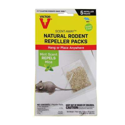 Scent Away Natural Rodent Repeller (5-Count)