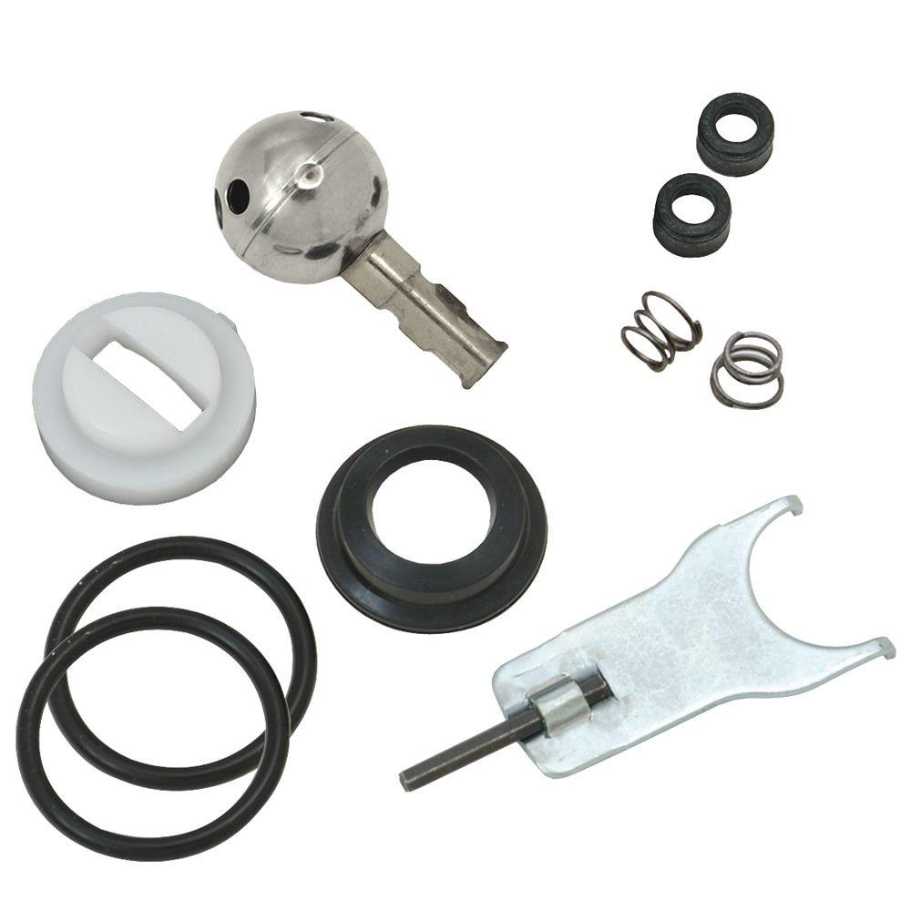 Delta Repair Kit for Crystal Knob Handle Single-Lever Faucets ...