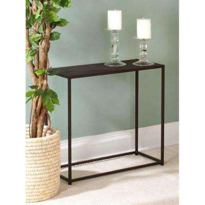 Urban Black Console Table
