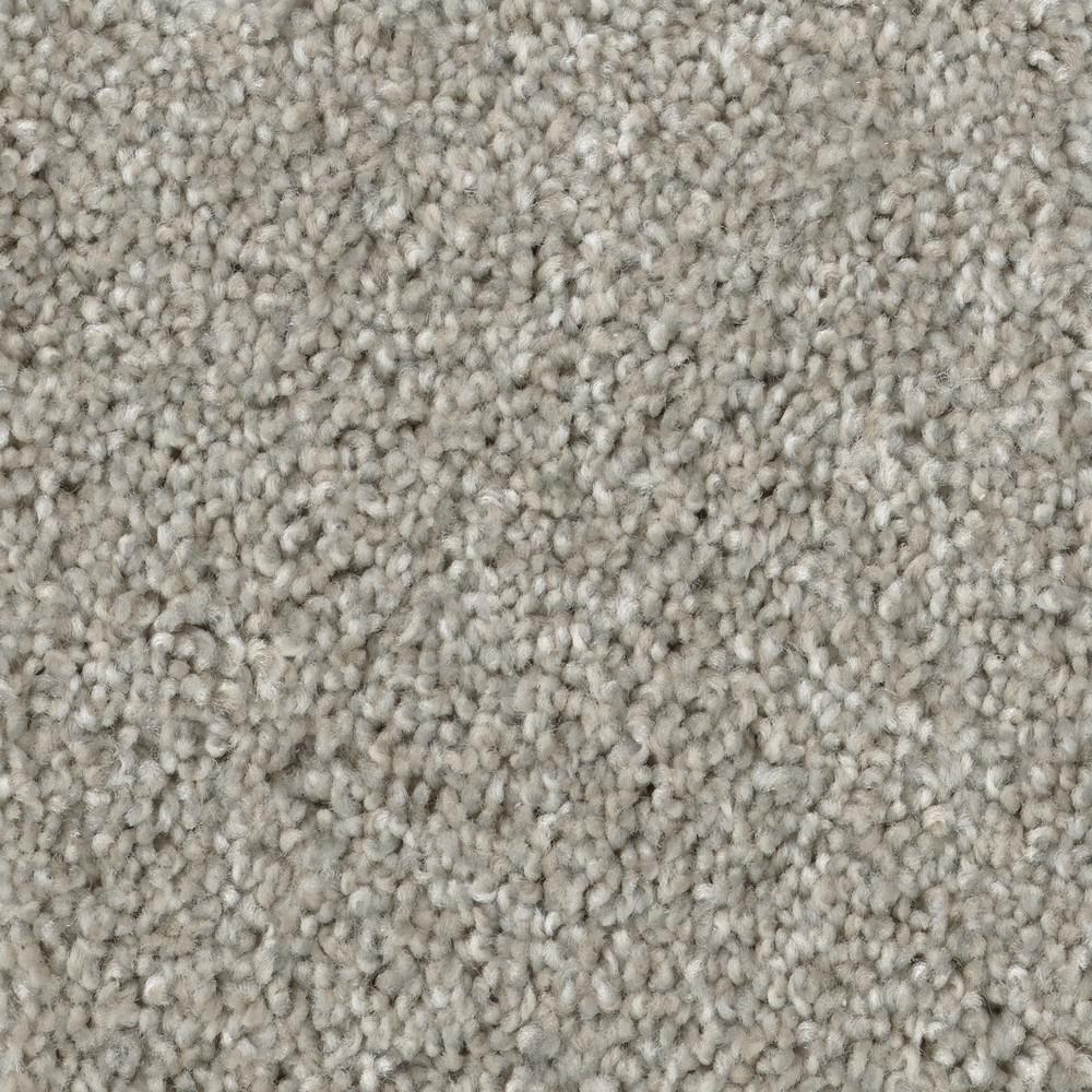 TrafficMaster Groove - Color Gray Texture 12 ft. Carpet