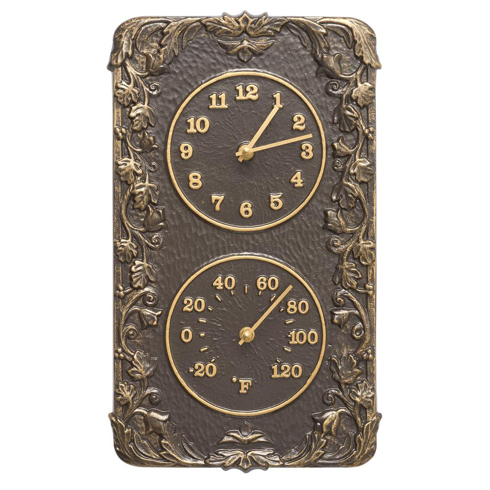 Whitehall Products Acanthus Indoor Outdoor Wall Clock and...