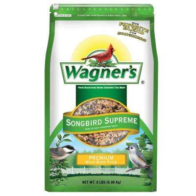 8 lb. Songbird Supreme Wild Bird Food