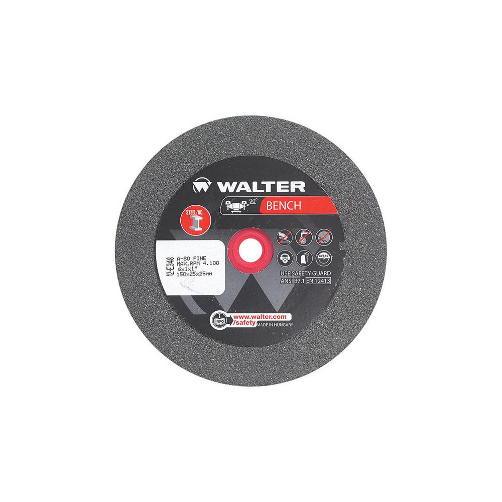 Terrific Walter Surface Technologies 6 In X 1 In Arbor X 1 In Gr 80 Fine Bench Grinding Wheels Beatyapartments Chair Design Images Beatyapartmentscom