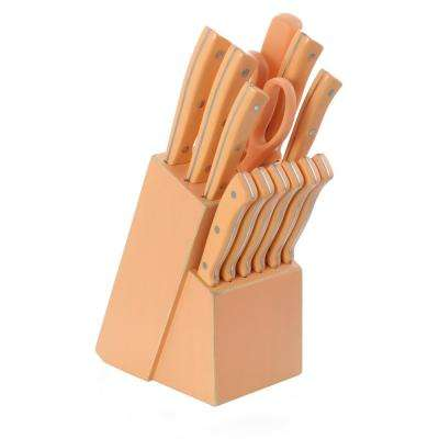 Plaza Cafe 14-Piece Coral Cutlery Set