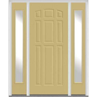 Beige 9 Panel Front Doors Exterior Doors The Home Depot