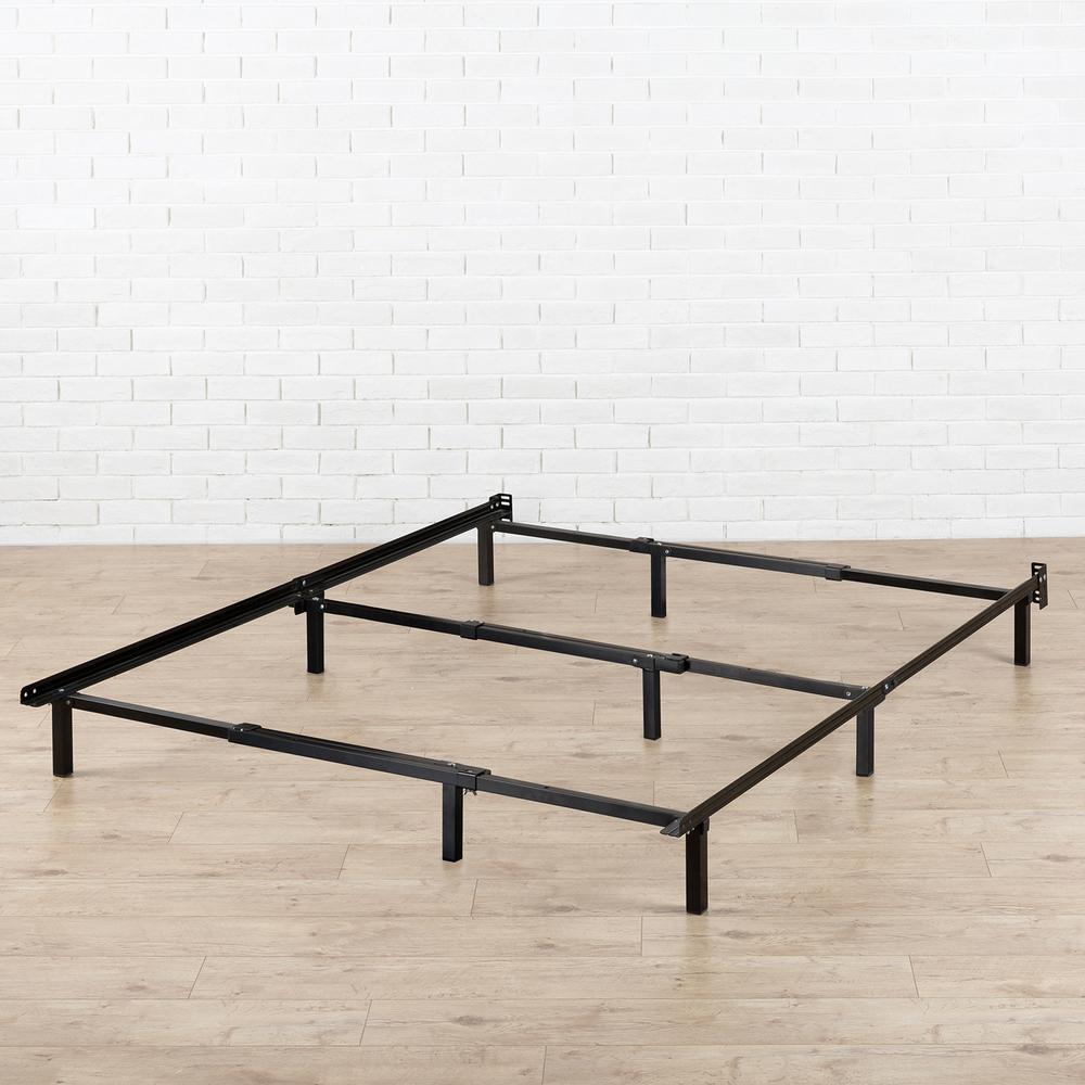 Zinus Compack Adjustable Metal Bed Frame Hd Sbf 12u The Home Depot