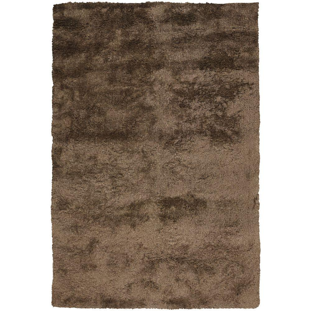 Edina Brown 9 ft. x 13 ft. Indoor Area Rug