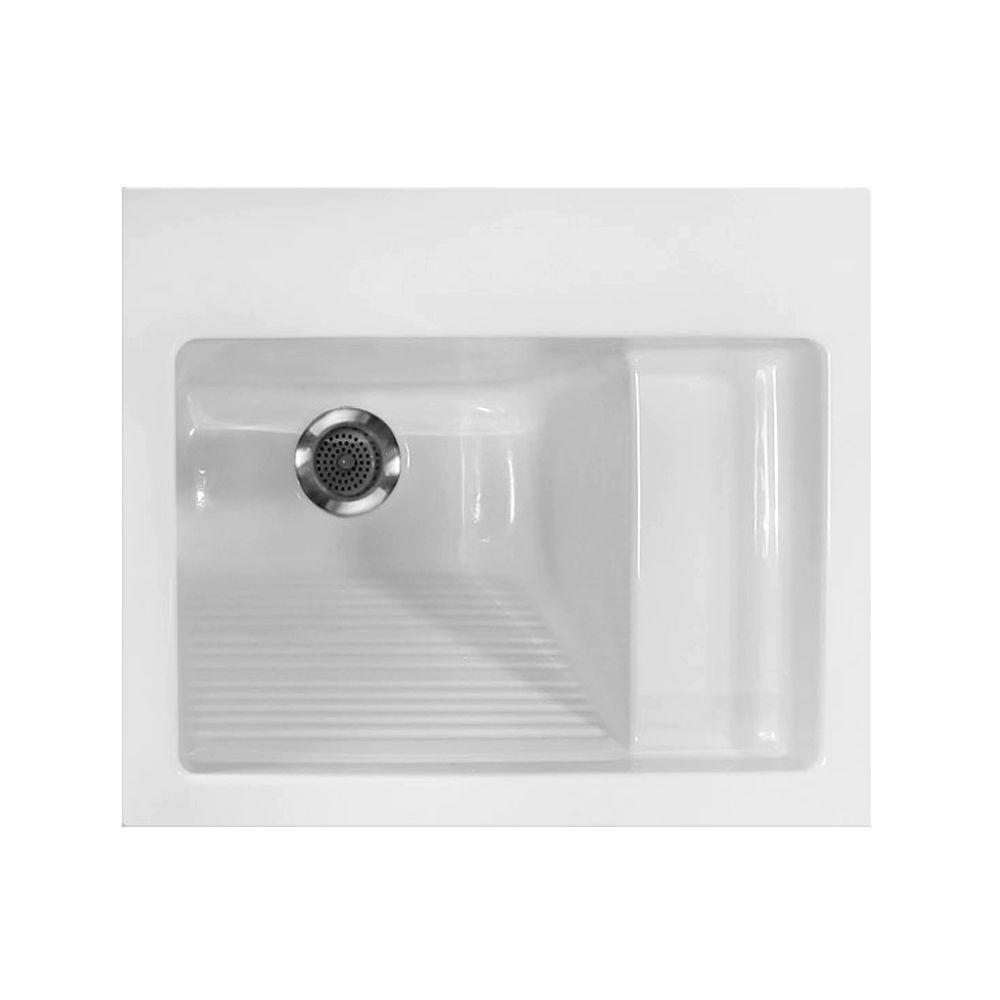 Hydro Systems 21 in. x 26 in. Acrylic Laundry Sink