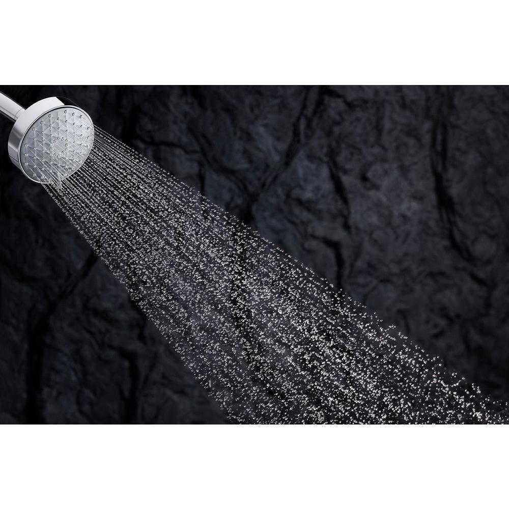 Awaken 4.3125 in. 3-Spray Multifunction Showerhead in Polished Chrome