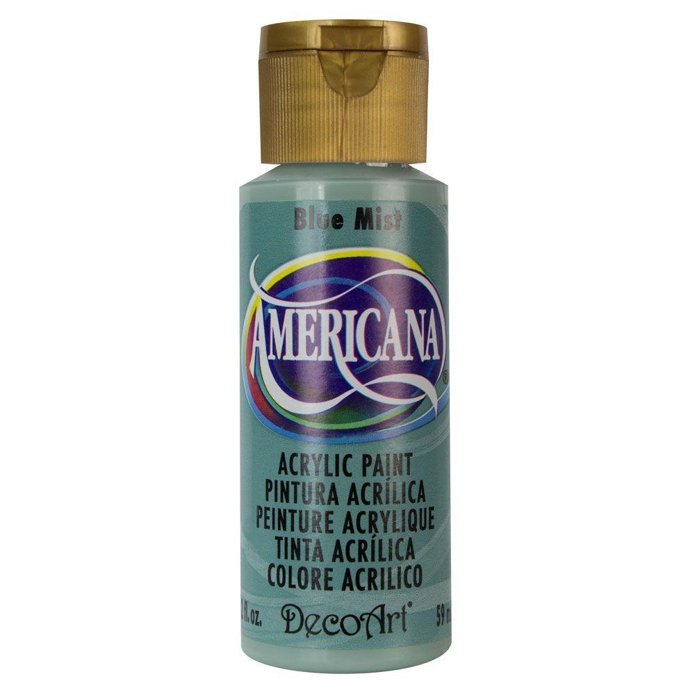 Americana 2 oz. Blue Mist Acrylic Paint