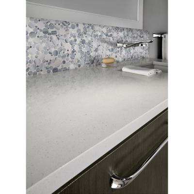Gray Marble Mosaic Tile Tile The Home Depot