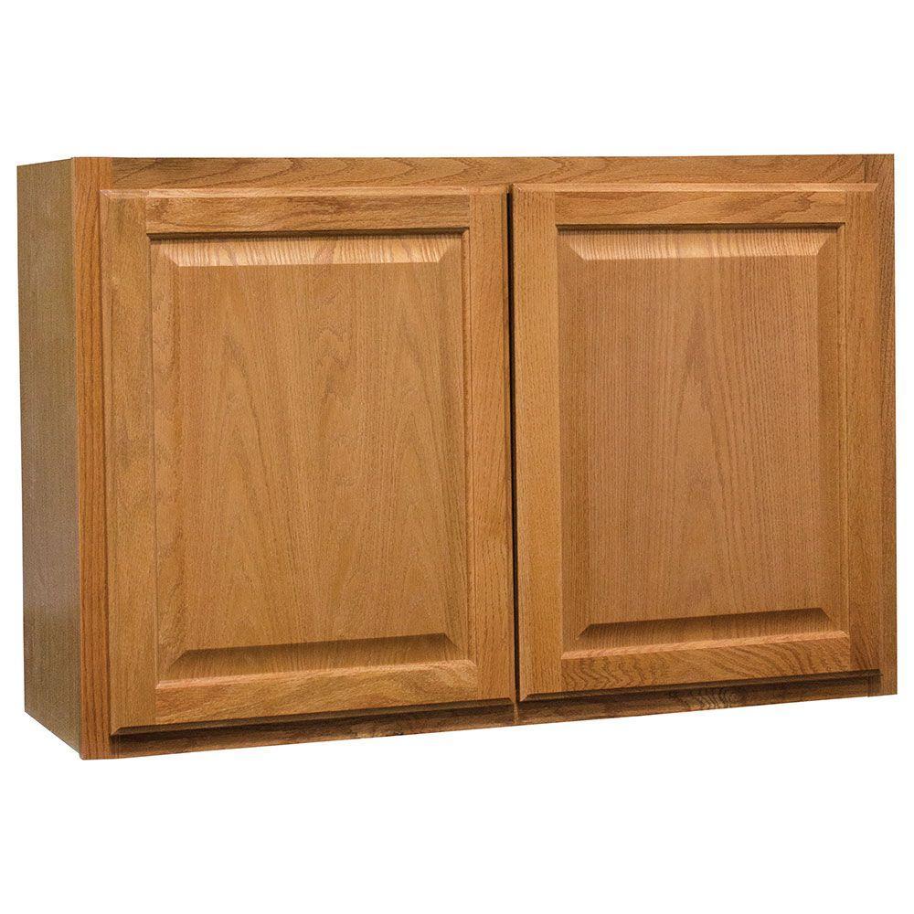 Wall Bridge Kitchen Cabinet In Medium Oak