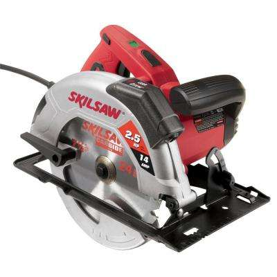 Factory Reconditioned Corded Electric 7-1/4 in. Circular Saw with Blade and Carrying Case
