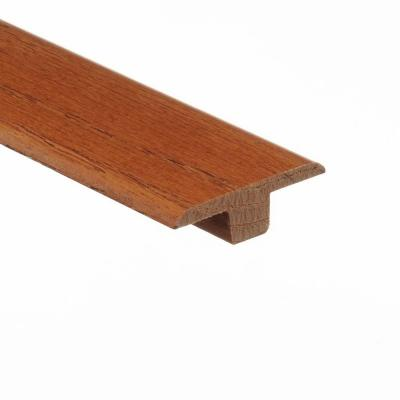 Marsh/Woodale Caramel 3/8 in. Thick x 1-3/4 in. Wide x 94 in. Length Wood T-Molding