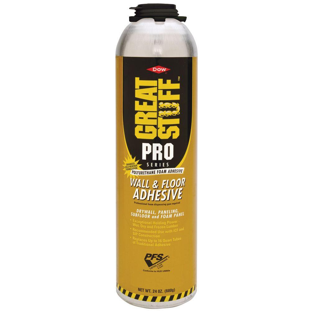 Great Stuff Pro 26 5 Oz Wall And Floor Adhesive 343087