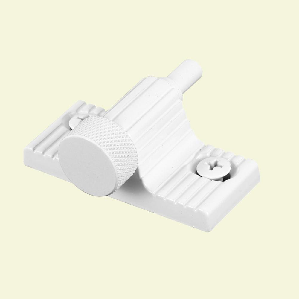 Prime Line White Twist In Sliding Patio Door Lock U 9850 The Home