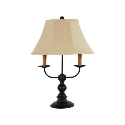 26 in. Black Table Lamp