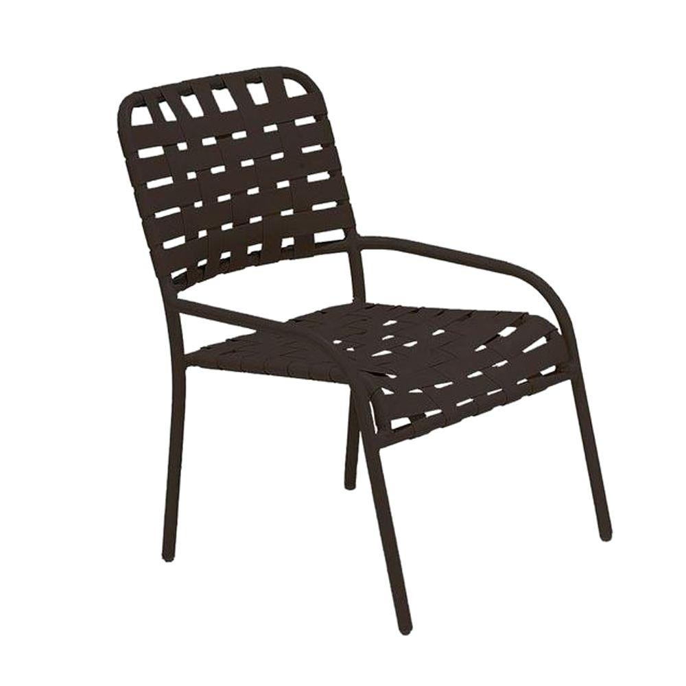 Tradewinds Lido Crossweave Contract Java Nesting Gaming Patio Chair (2-Pack)
