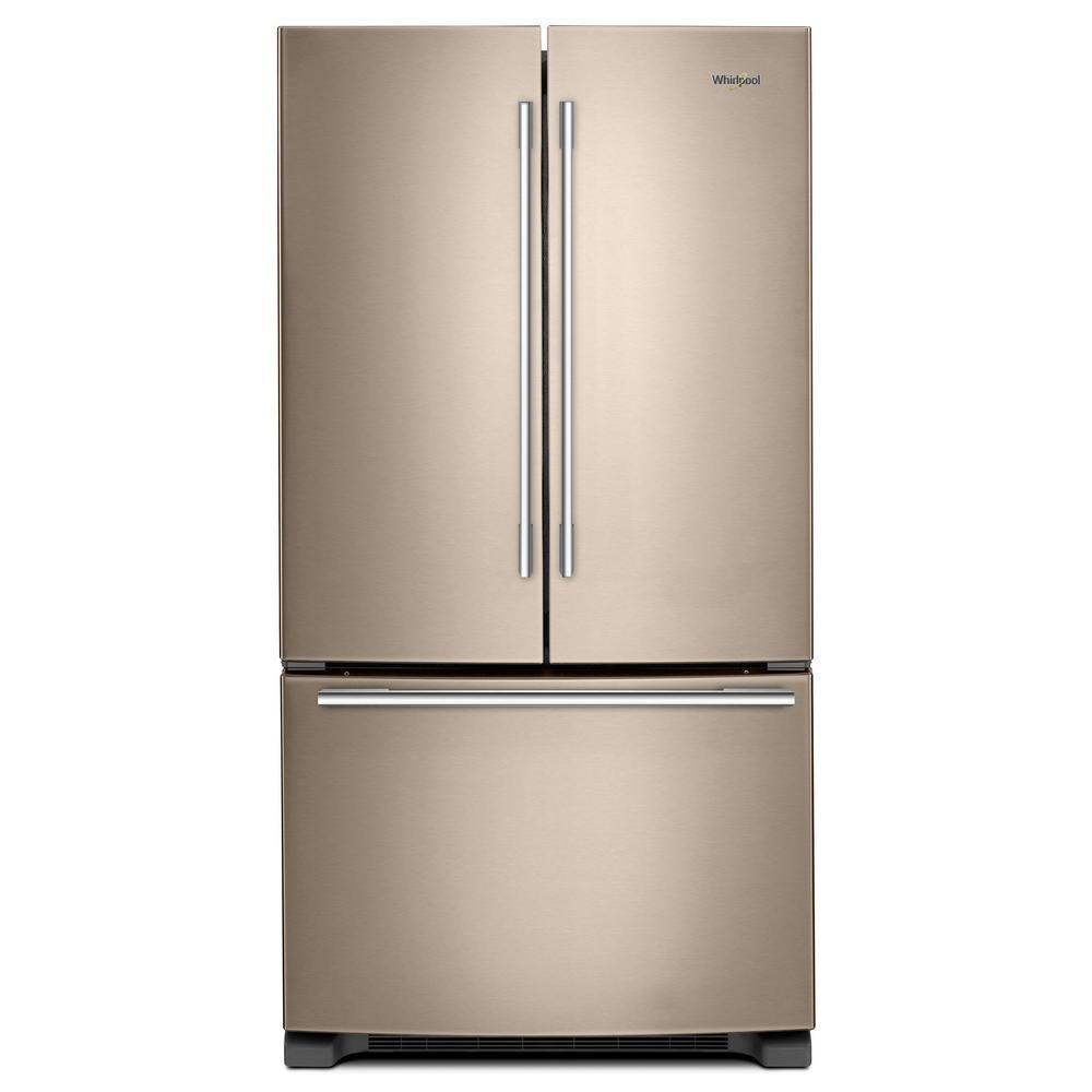 Bronze Kitchen Appliances: Whirlpool 22 Cu. Ft. French Door Refrigerator In Sunset